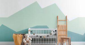 赤ちゃんの部屋の画像